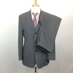 Hugo Boss Grey 100% Schurwolle Virgin Wool Suit